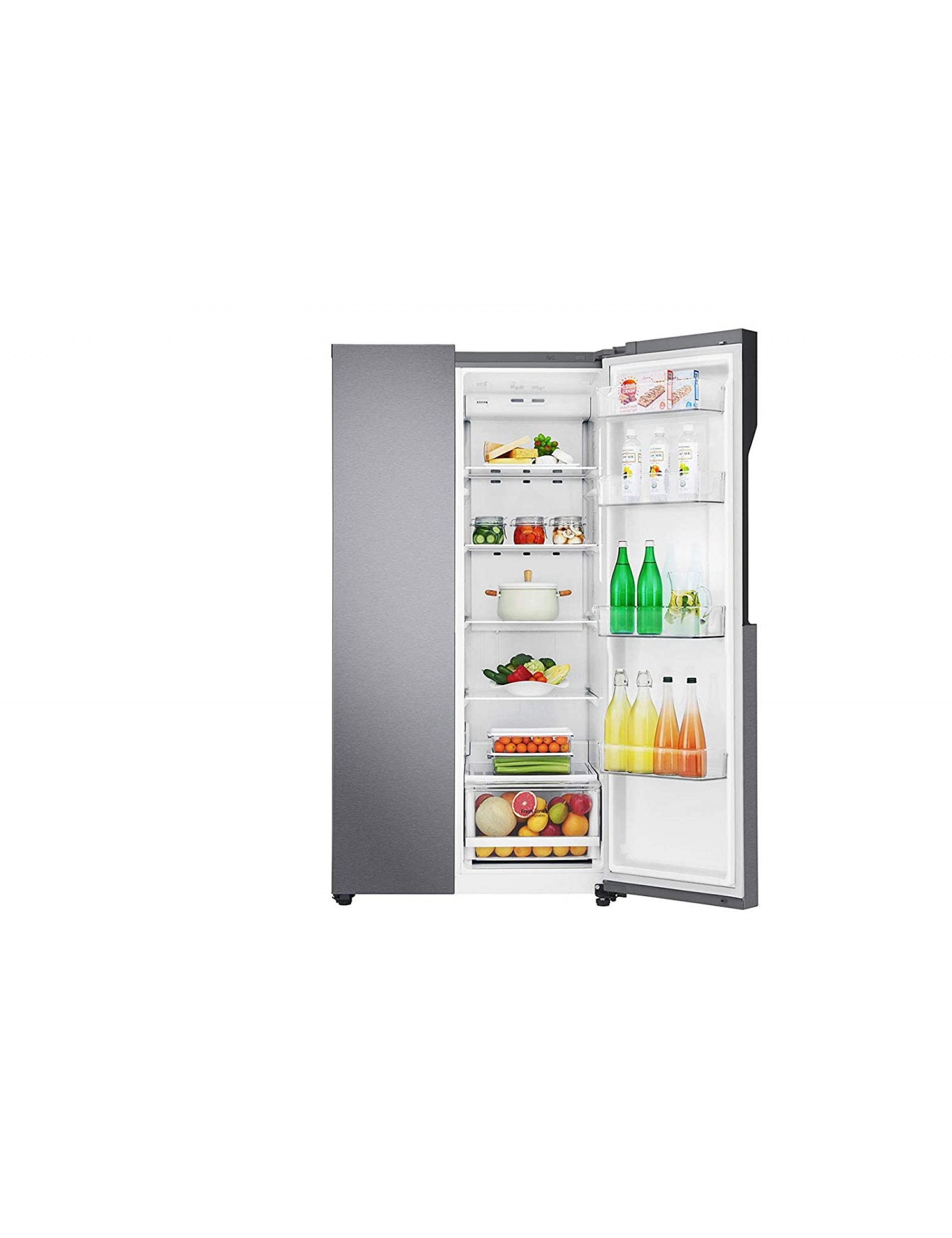 Lg 679 L Frost Free Side By Side Refrigerator Gc B247kqdv